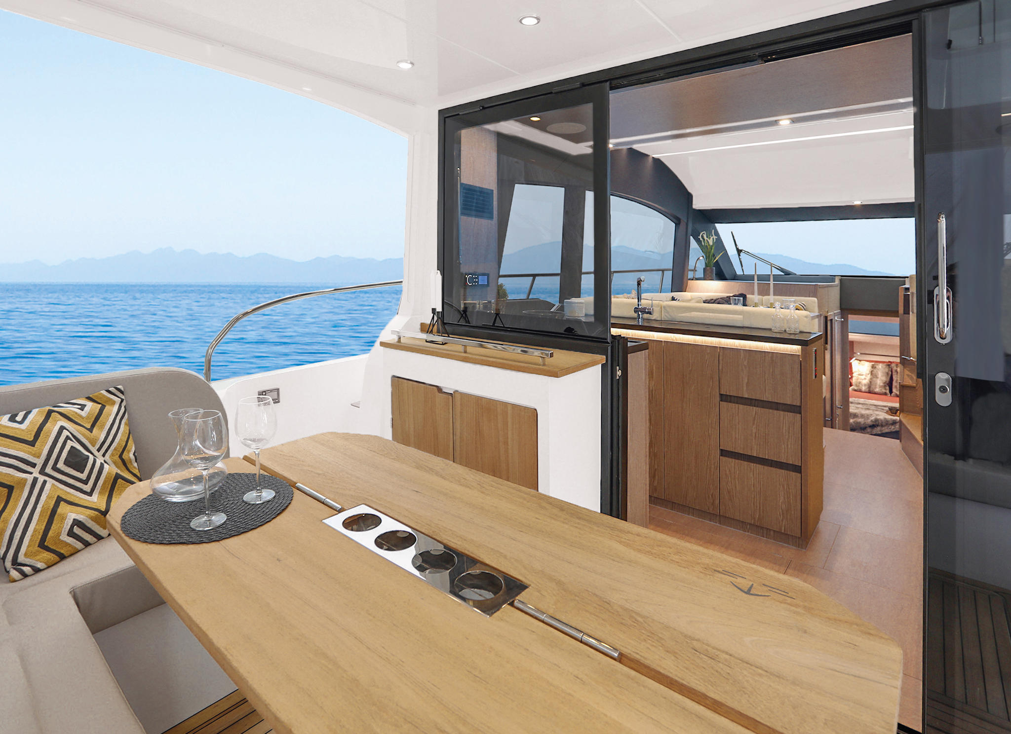 Sealine_F430_Interior_Furniture_Sherwood-Chestnut_015